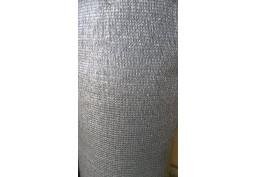 Tieniaca plachta 87% 120 cm sivá tieniaca sieť na plot