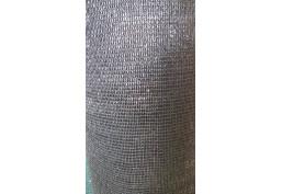 Tieniaca plachta 65% 150 cm čierna