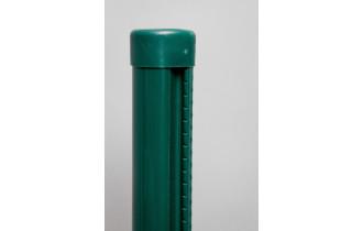 Stĺpik s lištou PVC 48/2000mm